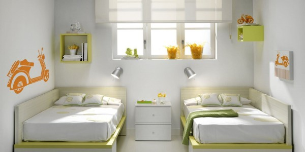 amenager une chambre pour 2 enfants maison design. Black Bedroom Furniture Sets. Home Design Ideas