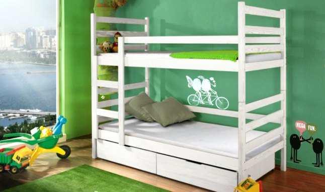 Quel type de lit convient une chambre pour deux lit b b - Lit superpose en bois pas cher ...