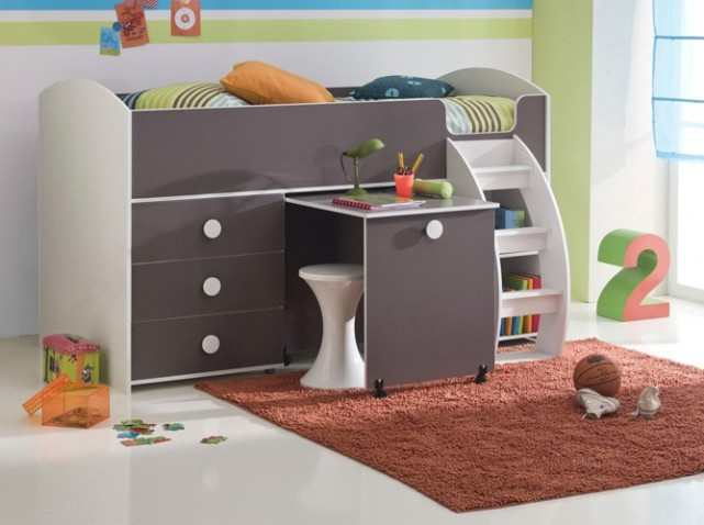 quel type de rangement pour le lit de votre enfant lit. Black Bedroom Furniture Sets. Home Design Ideas
