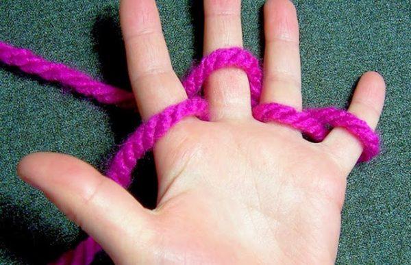 activités manuelles enfant tricoter